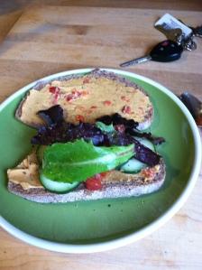 My yummy new sandwich