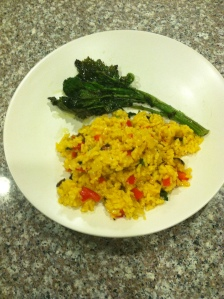 Paella and Broccoli Rabe